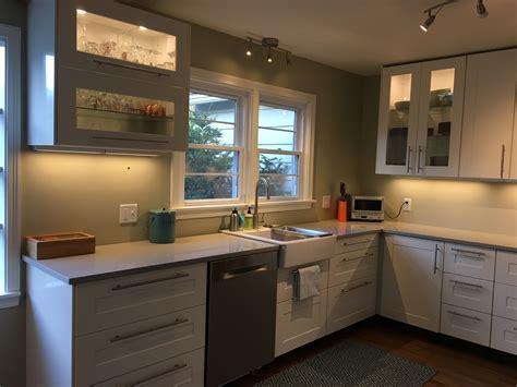 Farmhouse Kitchen Island Ideas - a gorgeous ikea kitchen renovation in upstate new york