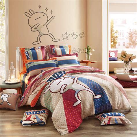 fun comforter sets lovo tuzki and 100 cotton sheet set duvet cover sets bedding sets in bedding