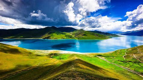 西藏唯美风景好看壁纸_绝美清新的自然美景_风景壁纸_