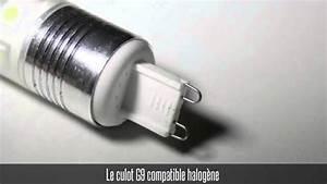 Ampoule Led G9 Blanc Froid : ampoule led g9 3w blanc chaud blanc froid youtube ~ Melissatoandfro.com Idées de Décoration