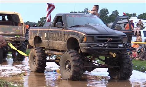 crazy chevy clip battling trucks   bubble bath