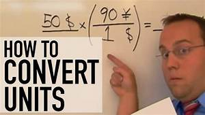 How To Convert Units - Unit Conversion Made Easy