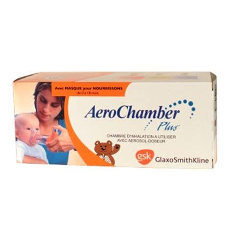 chambre d inhalation aerochamber aerochamber plus chambre inhalation pédiatrique gsk