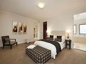 Modern bedroom design idea with carpet built in desk for Bedroom carpet colours