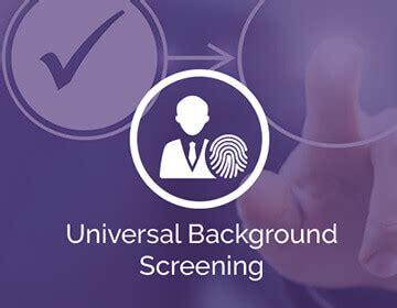 Universal Background Screening Employment History With Universal Background Screening Everythinghr