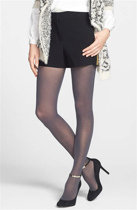 light grey opaque tights dkny light opaque control top tights in gray flannel grey