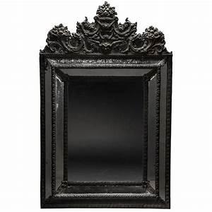 Ornate Black Mirror at 1stdibs