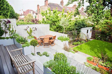 designed gardens landscaped multi levelled contemporary garden designed muswell hill