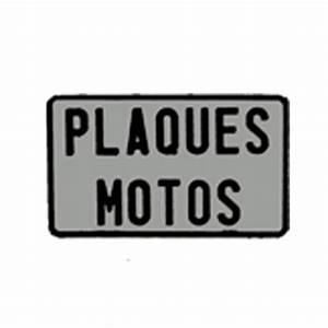 Plaque D Immatriculation Moto : plaque d 39 immatriculation moto blanche carr e emboutie ~ Medecine-chirurgie-esthetiques.com Avis de Voitures