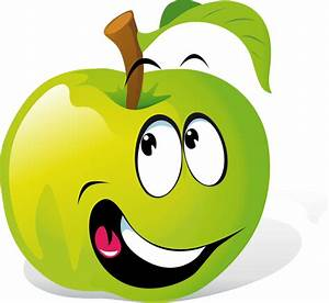 Cartoon Apples With Faces - Cliparts.co