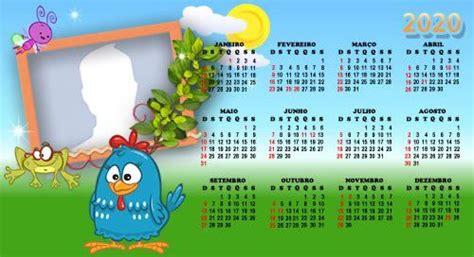 Calendário da Galinha Pintadinha Adicione uma Foto para