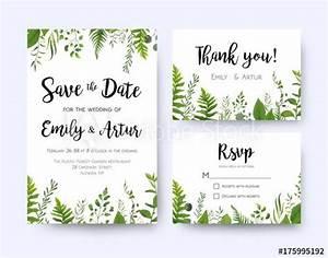 wedding invite invitation menu rsvp thank you card vector With wedding invitation rsvp time frame