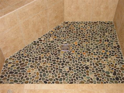 river rock tile floor river rock tile shower floor houses flooring picture ideas blogule
