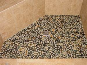 river stone shower floor cleaning river pebble shower With cleaning river rock shower floor