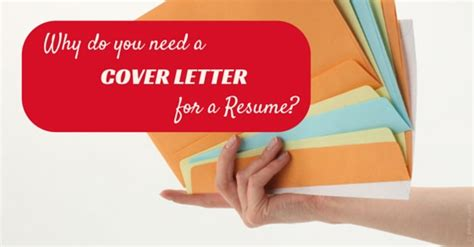Do I Need A Cover Letter For A Resume by Cover Letter For A Resume Why Do You Need It Absolutely