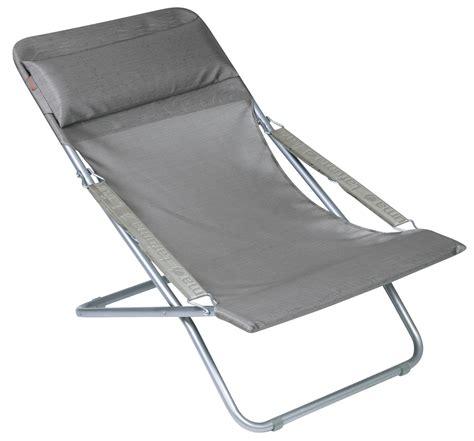 lafuma chaise chaise longue transabed xl pliable 3 avec