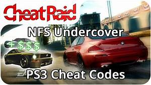 Need For Speed Undercover Ps3 : need for speed undercover cheat codes ps3 youtube ~ Kayakingforconservation.com Haus und Dekorationen
