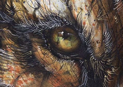 splattered ink animals  hua tunan art people gallery