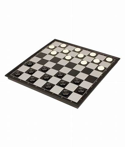 Magnetic Chess Checkers Folding Travel