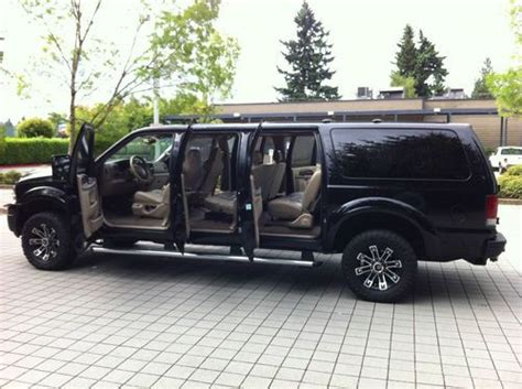 Sell Used 2004 Ford Excursion 4x4 6-door In Portland