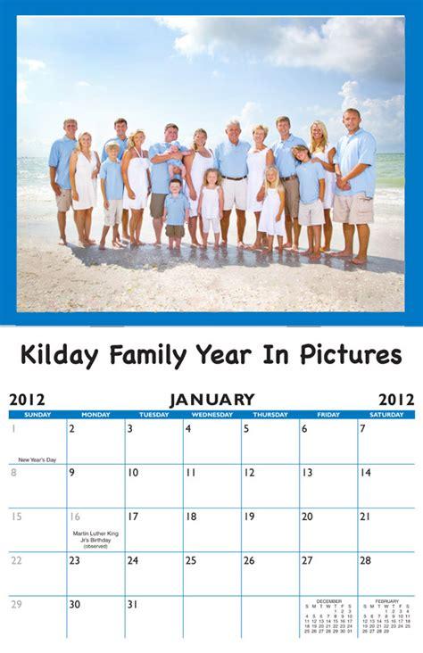 family birthday calendar personalized calendar company