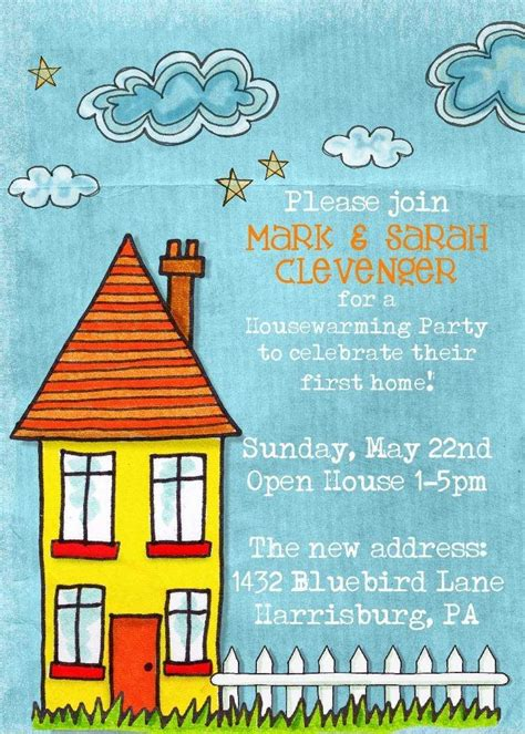 invitation cards templates for housewarming free printable housewarming invitation wording