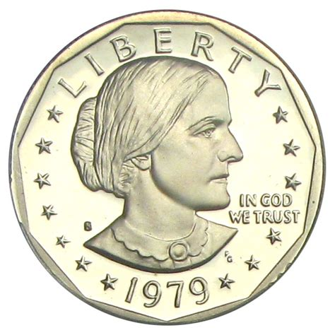 1979 silver dollar 1979 s susan b anthony dollar 1 pcgs proof 70 dcameo sba type 1 buy sell certified rare