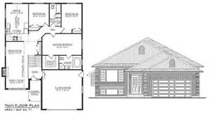 Top Photos Ideas For Raised Bungalow Floor Plans by Diversified Drafting Design Darren Papineau Home Plans