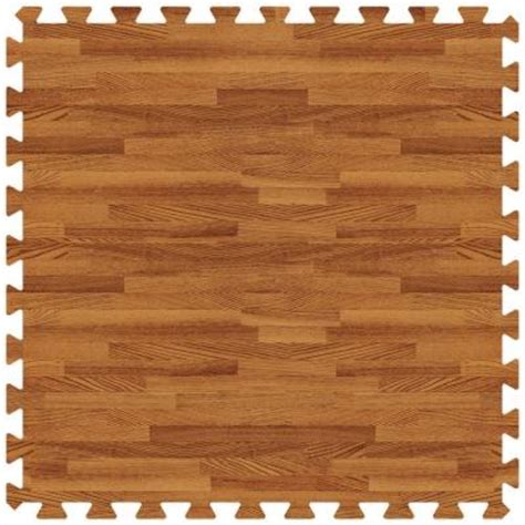 rubber wood flooring home depot groovy mats oak 24 in x 24 in comfortable wood