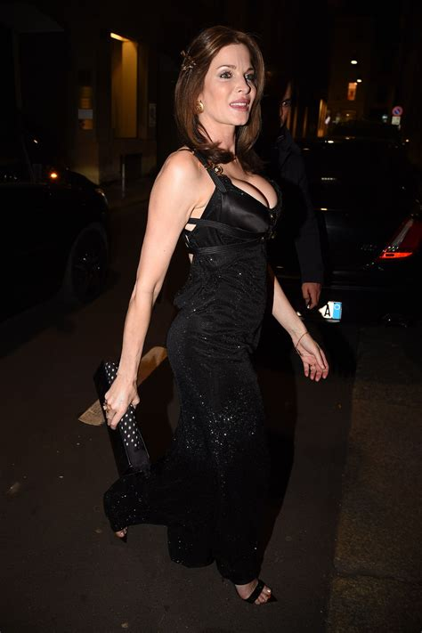 Stephanie Seymour Night Out Milan