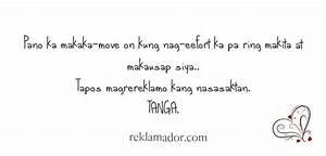 English and Tag... Tagalog English Quotes