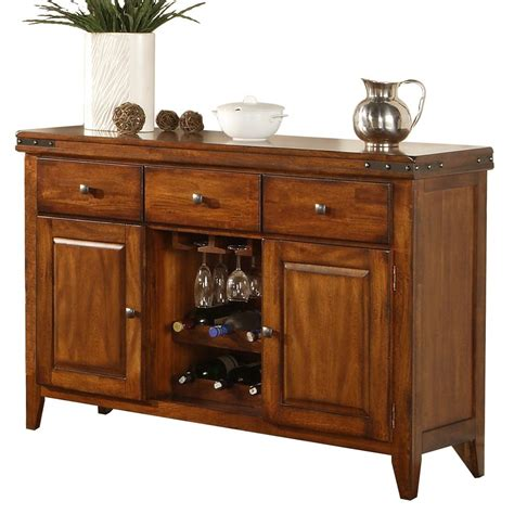 Wine Sideboard Furniture by Winners Only Mango Dmg470b Sideboard With Wine Rack Dunk
