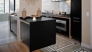 Carreaux De Ciment Unis : je veux des carreaux de ciment dans ma cuisine cuisine carreau ciment et parquet ~ Melissatoandfro.com Idées de Décoration