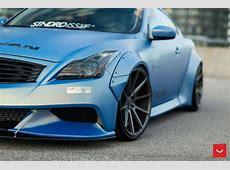 Vossen Liberty widebody Infiniti G37 Coupe tuning 7