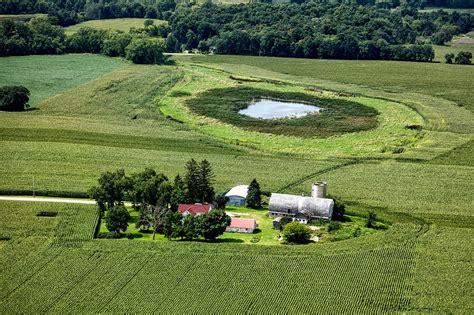 Free photo: Wisconsin, Aerial View, Farm - Free Image on ...