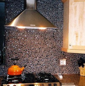 where to buy kitchen backsplash charcoal black pebble tile pebble tiles 1716