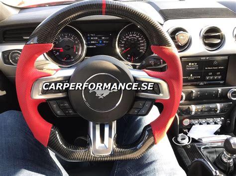 mustang   custom carbon steering wheel sweden