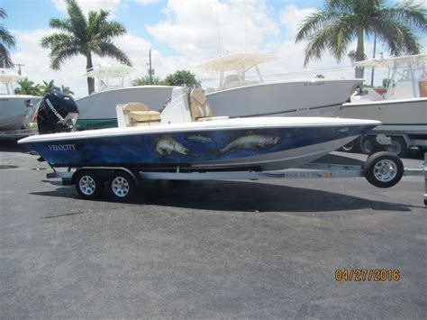 Velocity Bay Boats For Sale by 2015 Velocity 220 Bay Power Boat For Sale Www Yachtworld