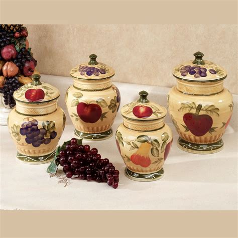 decorative kitchen canisters sets kitchen amazing kitchen storage jar sets with stainless
