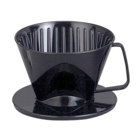 Find the right part fast by entering your kitchenaid model or part number. HIC Coffee Filter Cone, Black, Number 2-Size Filter, Brews 2 to 6-Cups - Walmart.com