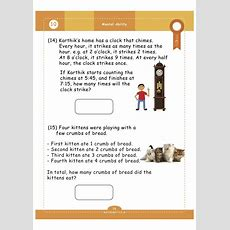 Geniuskids' Worksheets For Class1 (1st Grade)  Math, English & Science Shopflipclasscom