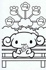 Coloring Sanrio Cinnamoroll Kawaii Japan Colorear 塗り絵 Colouring Dibujos Sheets Printable Kitty Hello Dog Imprimir Pochacco Cinnamaroll Keroppi Dogs Memo sketch template