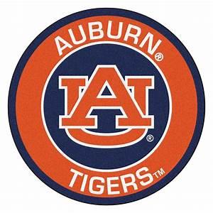 "Auburn University Tigers Logo Roundel Mat - 27"""