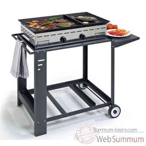 cuisine à la plancha gaz plancha dans barbecue plancha friteuse sur summum loisirs
