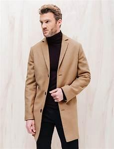 Veste En Laine Homme : veste homme beige en laine brice ~ Carolinahurricanesstore.com Idées de Décoration