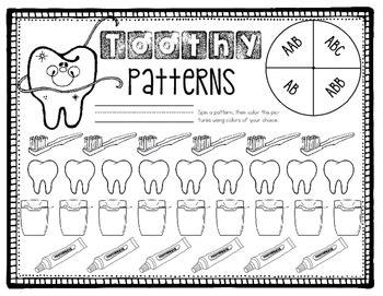 dental health centers  worksheets  rachel lukacsko tpt