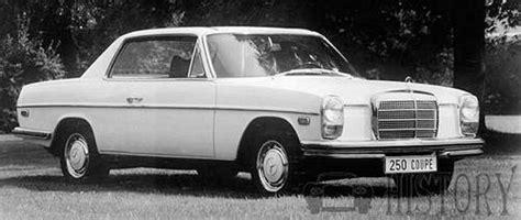 mercedes mercedes w114 w115 1968 1976