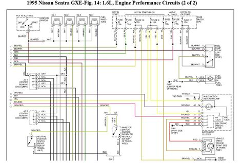 Window Wiring Harnes Diagram For 2003 Nissan Altima by Engine Wiring Diagram Wiring Problem Where The Signal To