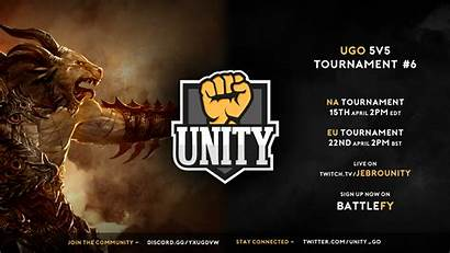 Unity Gaming 5v5 Tournament Pvp Announcement Banner