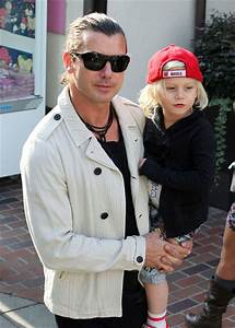 Zuma Rossdale in Gwen Stefani And Gavin Take The Kids To ...